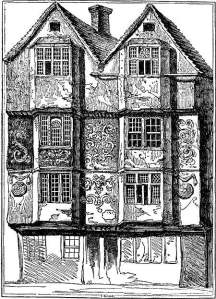 15th c london house
