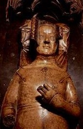 Queen Philippa Alabaster Effigy